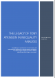 The Legacy of Tony Atkinson in Inequality Analysis